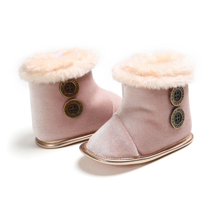 Baby  Shoes Autumn Winter Baby Boot First Walkers Kids Newborn  Infant Toddler Super Warm Cute Boots Cute Non-slip Soft Booties