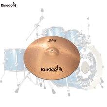 Kingdo B8-SN8 10 splash cymbal cymbal for drums set arborea cymbal gravity 14hi hat cymbal for drums