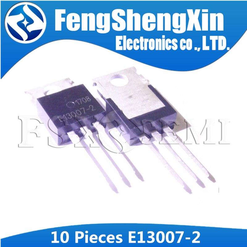 10 PCS FJP13007-2 TO-220 MJE13007 J13007-2 13007 TRANSISTOR