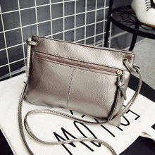 Casual Solid Color Women Handbags Fashion Soft Pu Leather Messenger Bags Small Flap Brand Designer Purses
