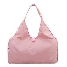 New fitness bag short-distance travel bag female large-capacity shoulder bag yoga bag travel men's hand luggage bag sports bag