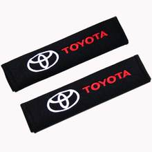 Car Seat Belt Cover Car Styling Auto Case For Toyota Corolla Rav4 Auris Camry Yaris CHR avensis Accessories Car-Styling(China)