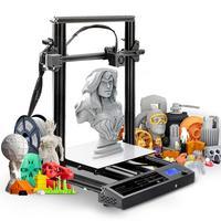 SUNLU 2020 New S8 Design FDM 3D Printer Full Metal Frame High Precision Large Size frame 3d Filament DIY KIT Printing Desktop