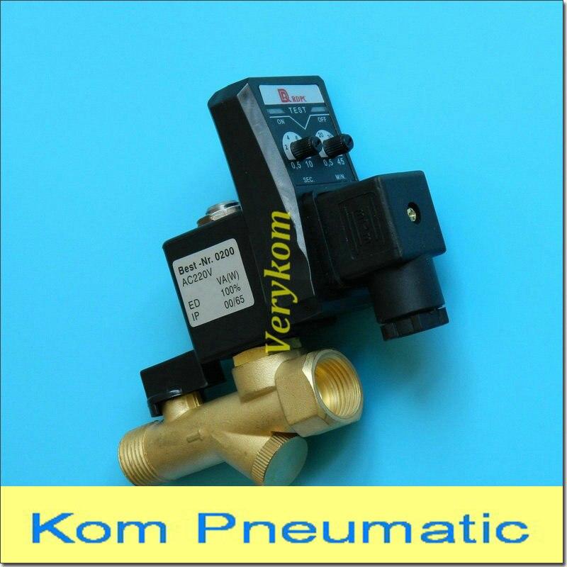 Solid 3//4 Female NPT 2 Position 2 Way Irrigation//Sprinkler Solenoid Valve AC 24V from U.S