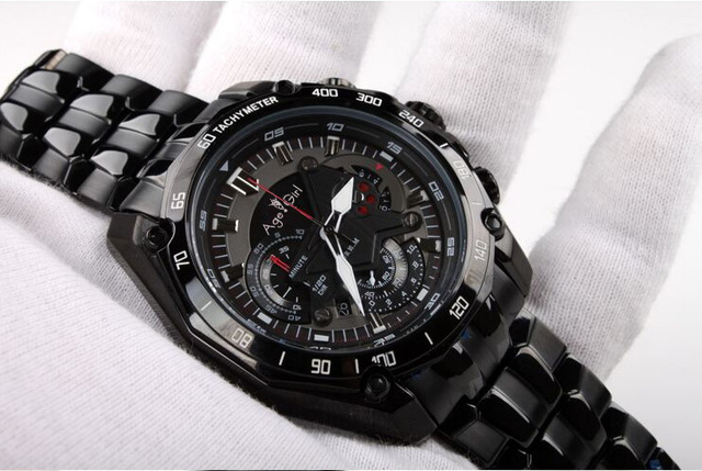 Luxury Brand New Quartz Chronograph Men Watch Stopwatch Watches Stainless Steel Luminous Limited Date Display With Box AAA+ | Fotoflaco.net