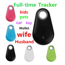 Anti-Lost Theft Alarm Locator Smart Mini GPS Tracker Bluetooth remote Shooting Place Tracking Tool for kids Pet dog Key Finder(China)