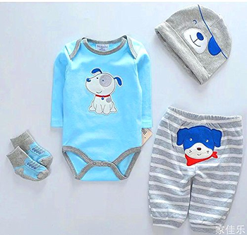 Reborn Dolls Baby Clothes Toy Blue Dog Outfit For 20- 22 Reborn Doll Boy Baby Clothing Light Blue Outfit Sets Doll Clothes warkings reborn