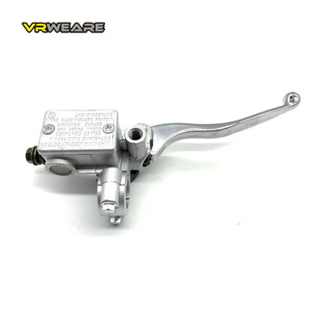 UNIVERSAL Motorcycle Brake pump Front Wheel Cylinder Disc Brake Hydraulic Pump Assy Motorbike Up Pump Level 125cc silver motorcycle front disc brake drum brake level handle for yamaha scooter force cygnus silver