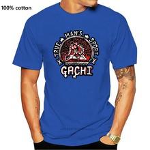 Mannen T-shirt Korte Mouw Gachi Unisex T-shirt Een Hals Vrouwen T-shirt