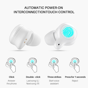 Image 4 - TFZ COCO Q1 TWS Ture Wireless Bluetooth 5.0 Dynamic Driver Sport Earphone HiFi Audio AAC/ABC/SBC CVC+DSP Dual Noise Reduction