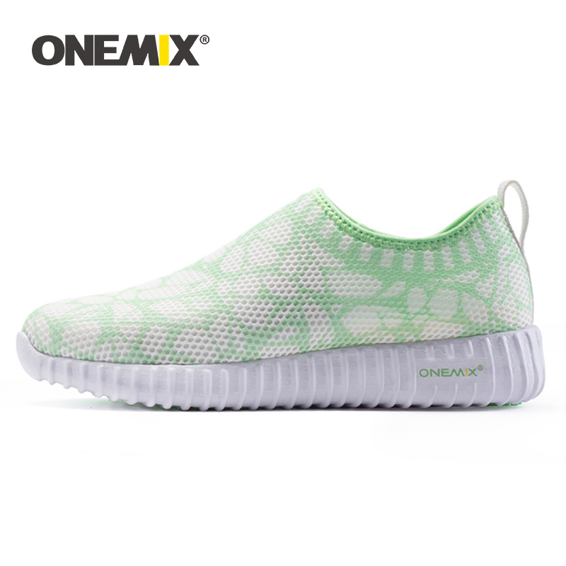 ONEMIX Women Running Shoes Breathable Sneakers For Women Cool Mesh Durable Rubber For Outdoor Sports Jogging Walking Sneakers