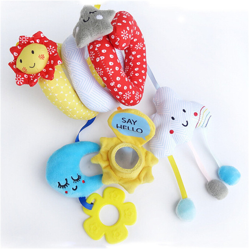 Móbiles e chocalhos para bebês