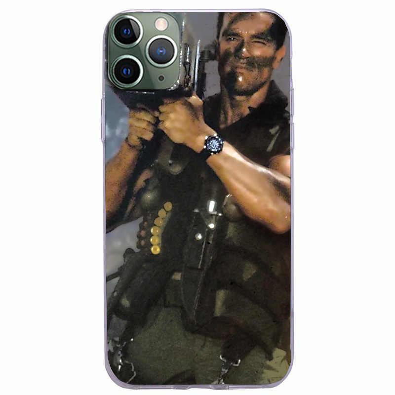 Arnold Schwarzenegger film Commando 1985 poster telefoon case Voor Apple iPhone 11 PRO MAX i11 pro coque Funda Covers