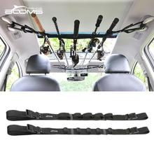 Booms Fishing VRC Vehicle Rod Carrier Rod Holder Belt Strap With Tie Suspenders Wrap Fishing Tackle Boxes Tools Box Accessories цена 2017