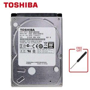 Внутренний жесткий диск TOSHIBA, 320 ГБ, SATA2 HDD, для ноутбука, 320G HDD, SATA2.0, 8 Мб, 5400 об/мин, б/у