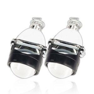 Mini 2.5 Inch WST HID H1 Bi Xenon Projector Lens Car Headlight H4 H7 Base Adapter Ring Car Styling Retrofit DIY