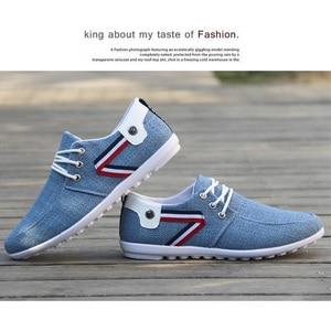 Image 5 - 2020 uomini Casual Mens Scarpe di Tela Scarpe Per Gli Uomini di Moda Appartamenti di Modo di Marca Scarpe Da Tennis Degli Uomini scarpe Da Ginnastica Mocassini Zapatos De Hombre