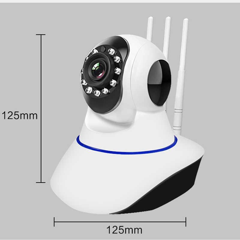 Najnowszy Neasgor 1MP 720P trzy anteny bezprzewodowa kamera sieciowa wi-fi inteligentny zdalny telefon komórkowy domowa kamera ip
