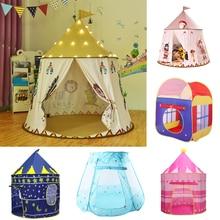 Kid Tent House Cartoon Chicken Kids Hang Flag Tent Baby Play House Princess Castle Present Hang Flag Children Tent Play Base