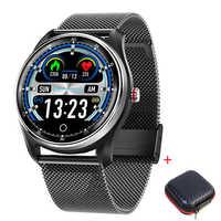 MX9 2019 nouvelle montre intelligente pour la natation bracelet intelligent ECG écran tactile pression artérielle fréquence cardiaque IP68 étanche
