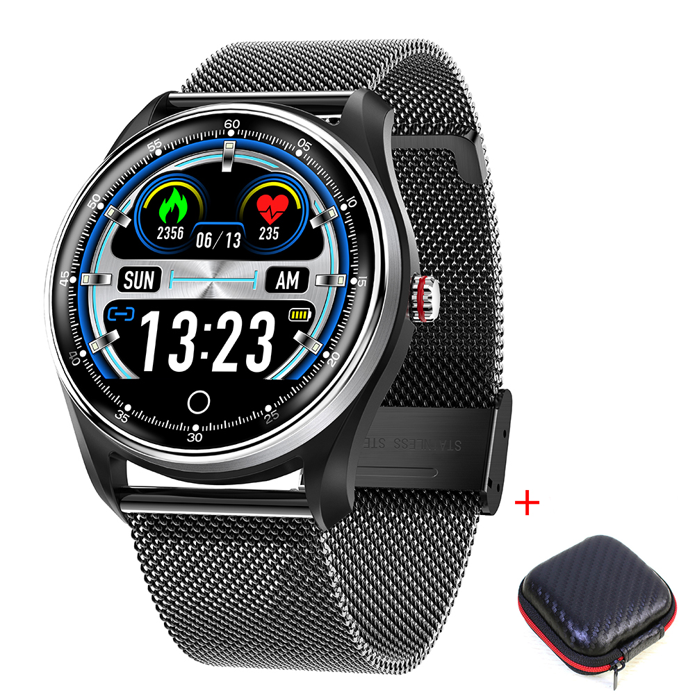 MX9 <font><b>2019</b></font> <font><b>New</b></font> <font><b>smart</b></font> <font><b>watch</b></font> for Swimming <font><b>Smart</b></font> bracelet ECG Touch-Screen Blood-Pressure Heart-Rate IP68 Waterproof image