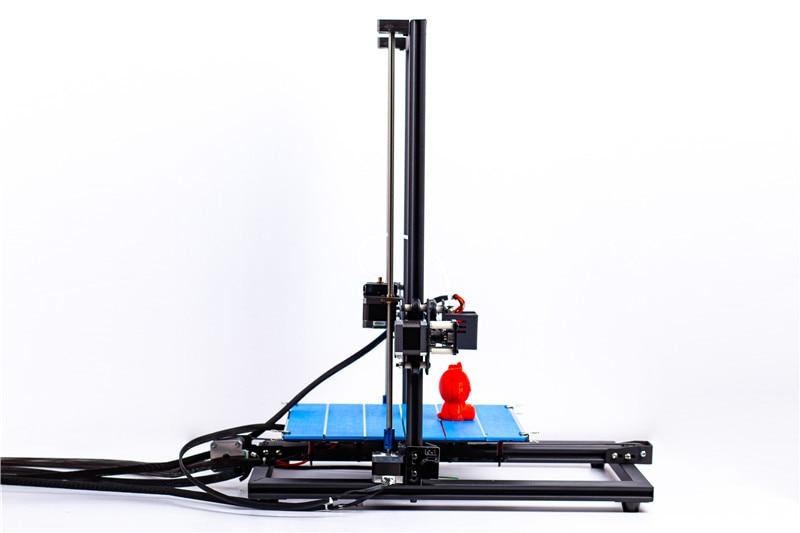 Ctc impresora 3d tamanho grande moldura de