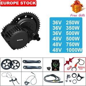 BAFANG BBS02 BBSHD 48V 500W/750W/1000W 36V250W/350W/500w Mid Drive Motor Ebike Kit 8fun Bicycle Engine Electric Bike Kit(China)