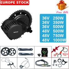 BAFANG BBS02 BBSHD 48V 500W/750W/1000W 36V250W/350W/500w mid Drive Motor Ebike Kit 8fun Fahrrad Motor Elektrische Bike Kit