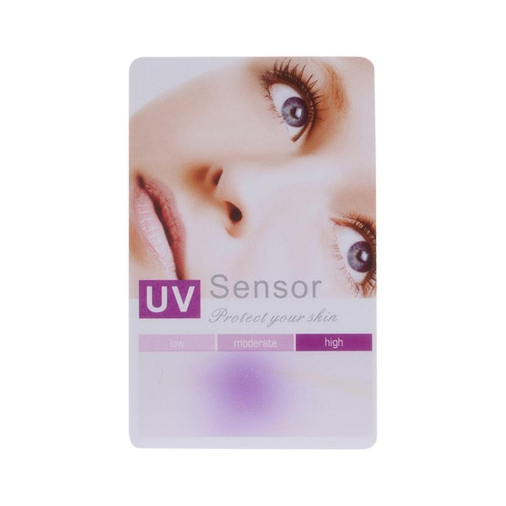 1/10Pcs PVC Reusable UV Ultraviolet Test Sun Protection Card For Skin Car Film  UVB Test Card UV Light Lamp Life Tests Paper