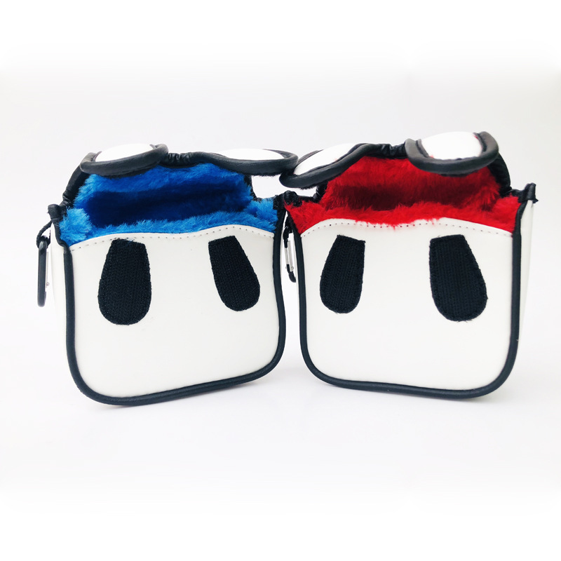 Golf Putter Cover Premium Square Golf Mallet Putter Head Cover Club Protector Headcover Drop Ship