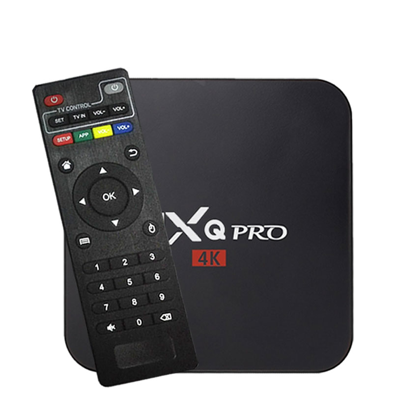 ТВ-приставка MXQ Pro 4k RK3228 Android 7,1 Amlogic S905W 9,0 2G16G HD 3D 2,4G WiFi Brasil Google Play Youtub медиаплеер телеприставка
