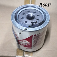 Filtro de combustível r60p combustível separador de água elemento substituição filtro para peças sobresselentes manutenção do motor diesel
