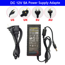 DC 12V 5A led Power Adapter AC 100-240V to DC 12V Charger Adapter 220 V 12 V Converter Led Strip Light LED Transformer