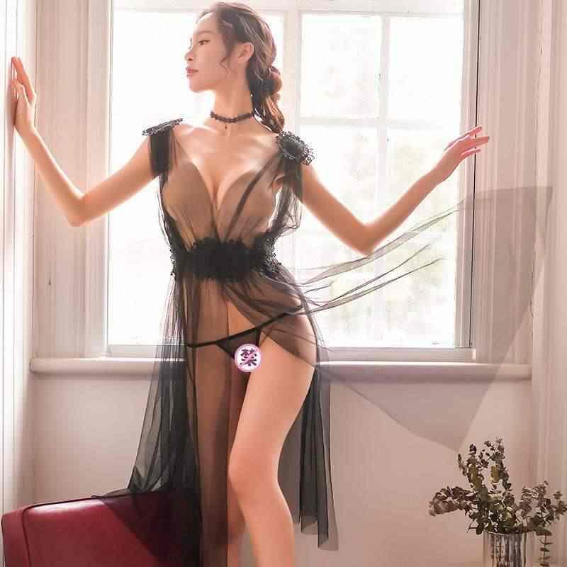 נשים של בית שירות רשת סאטן משי אישה תחרה חלוק נשי תחרה חלוק רחצה נשים גלימות הלבשת גבירותיי סקסי חלוק עבור נשים