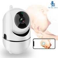 WiFi Baby Monitor Mit Kamera 1080P HD Video Baby Schlafen Nanny Cam Zwei Weg Audio Nachtsicht Home Security babyphone Kamera