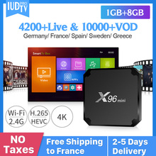 X96 MINI Smart Android 7.1 TV Box Spain IPTV Subscription IUDPRO Code Sweden Italy Netherlands Germany Channels