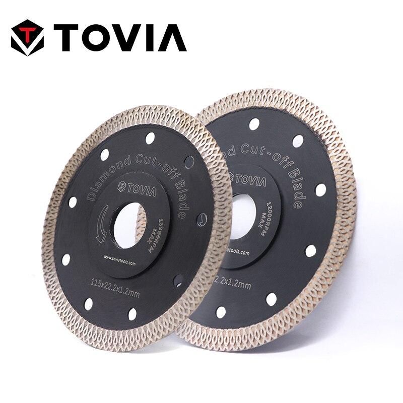 TOVIA 115mm/125mm Diamond Circular Saw Blades Cutting Granite Stone Porcelain Ceramic Tile Saw Disc Thin Saw Blades