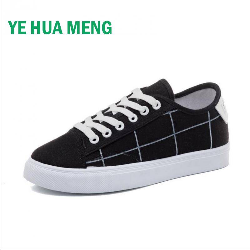 Spring Summer Ins Super Fire Canvas Shoes Female Harajuku Style Joker Korean Students Lace-up Non-slip Flat Small Black Shoes