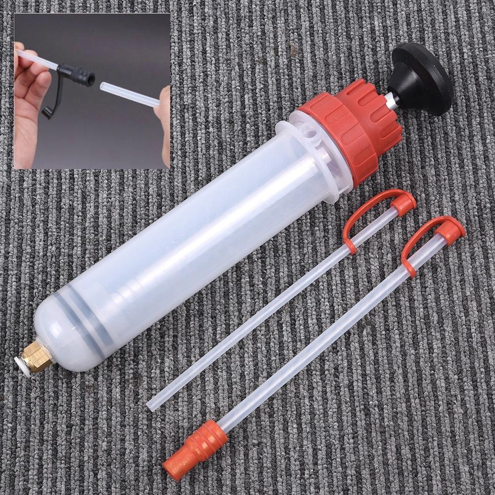 1 conjunto de extracao fluida bomba de ar do carro de enchimento seringa extrator oleo automotivo