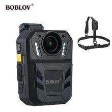 BOBLOV WA7 D Body Worn Camera 32MP HD 1296P Wearable Camera DVR Video Recorder Security Chest Belt Remote Control police camera