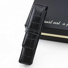 Handmade Leather Pen Case Pencil Bag Fountain Sleeve Bag Vintage Pouch for Single Pen Stylus Ballpoint Cute Stationary