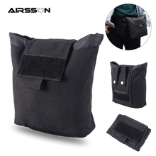 Foldable Molle Pouch 1000D Waterproof Military Waist Belt Bag Airsoft Tactical M
