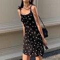 Французский на бретельках с цветочным рисунком мини-платье женские летние пикантные туфли на танкетке с открытым платья без рукавов женски...