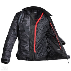 Image 5 - Men Motorcycle Jacket Waterproof Motocross Suit Windproof Moto Protection Wearable Chaqueta Moto With Removeable Linner