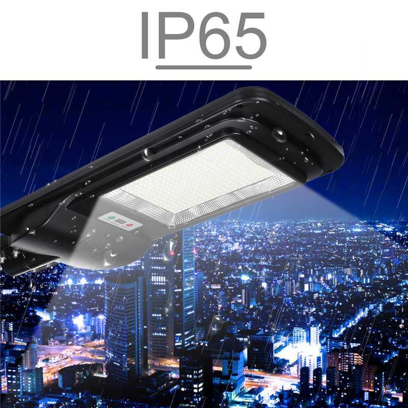 100W 300 LED Solar Licht mit Timing Fernbedienung 5730smd Radar Sensor Outdoor Solar Beleuchtung Wasserdichte IP65 für Garten hof - 2