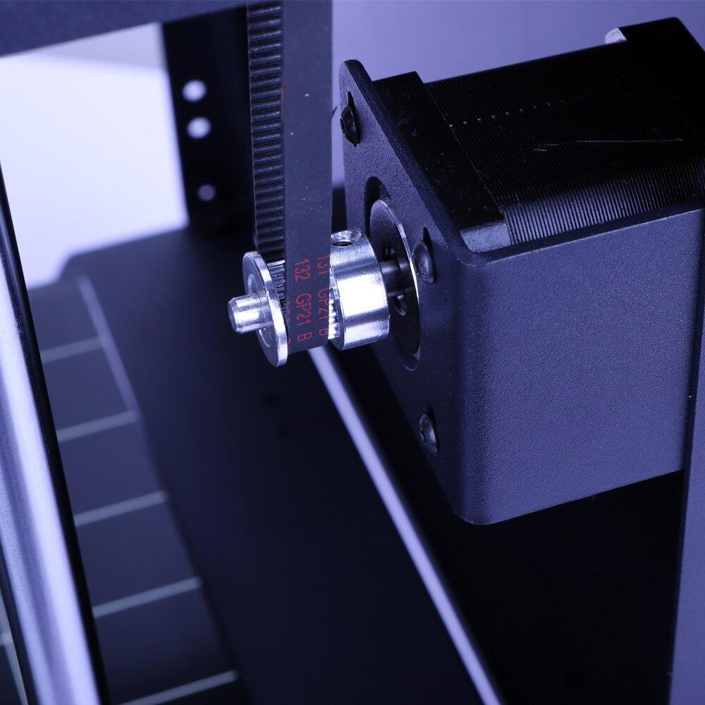 Nouvelle conception Flyingbear-Ghost4S plein cadre en métal haute précision bricolage 3d imprimante bricolage kit plate-forme en verre Wifi - 5