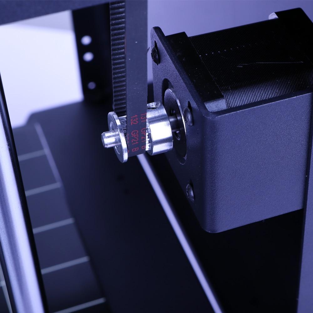 Nouvelle conception de Flyingbear-Ghost4S cadre entièrement en métal de haute précision bricolage imprimante 3d kit de bricolage plate-forme en verre Wifi - 5