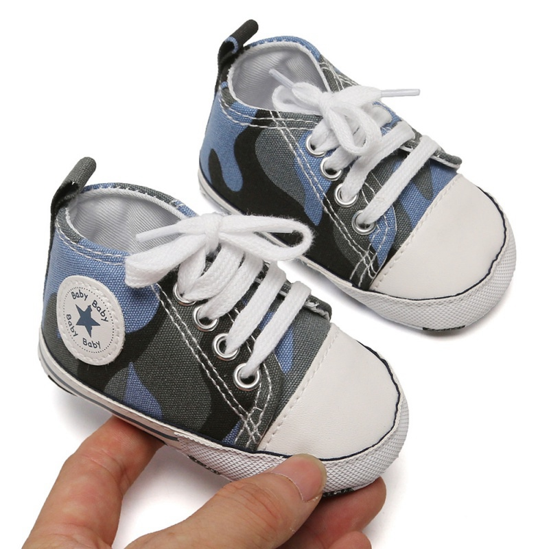Canvas Classic Sports Sneakers 2019 Newborn Baby Boys Girls First Walkers Shoes Infant Toddler Soft Sole Anti-slip Bab  Shoes #9