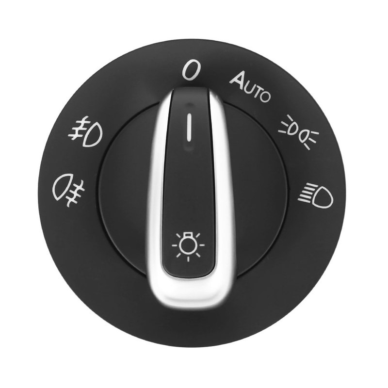 Light Headlight Switch for <font><b>VW</b></font> <font><b>Golf</b></font> <font><b>5</b></font> <font><b>GTI</b></font> MK5 MK6 Jetta Passat 5ND941431B Auto Interior Part image