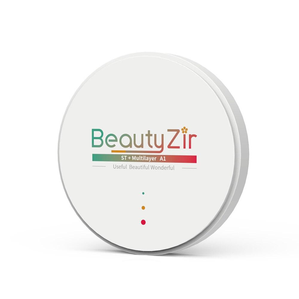 ST+ Multilayer Dental Zirconia Blank Size 98*14mm A1-D4 Colors Super Translucency For Cad Cam